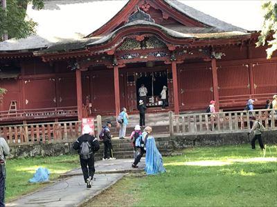岩木山~高照神社(宝物殿)散策
