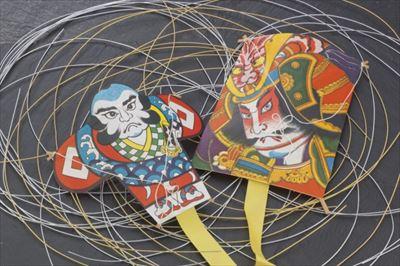 津軽凧作り